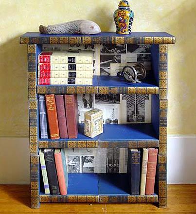 Как сделать из старой книжной полки