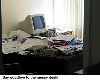 Goodbyebiggermessydesk